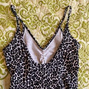 American Apparel Pants & Jumpsuits - leopard bodysuit